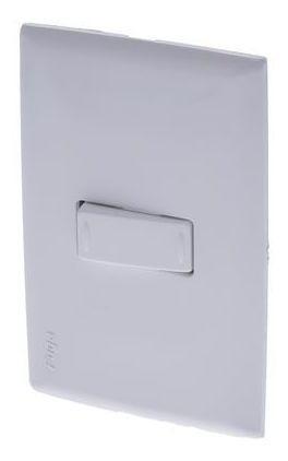 Interruptor Sencillo Conmutable Fuga Blanco Ciles
