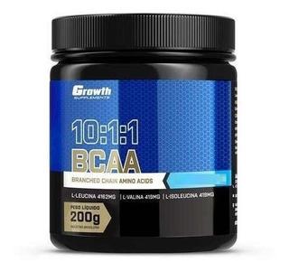 Growth Bcaa (10:1:1) (200g) Aminoacidos (varios Sabores)