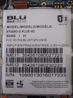 Display Blu Estiog Plus Hd S030q