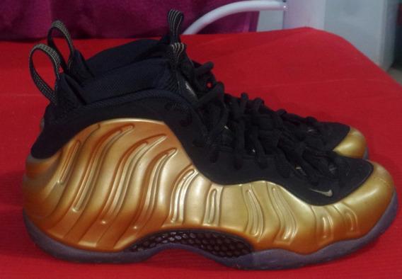 Tênis Nike Air Foamposite One Gold