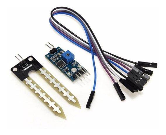 Sensor De Umidade Do Solo - Higrômetro Para Arduíno Pic
