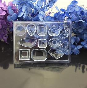 60809d527497 Molde Aretes Diamantes Joyería 12 + Moldes Resina 12llavero