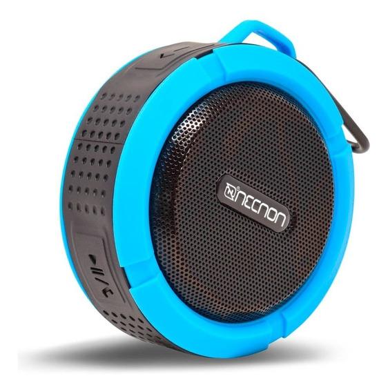 Bocina Portatil Bluetooth Recargable Anti Agua Necnon Audio Nitido
