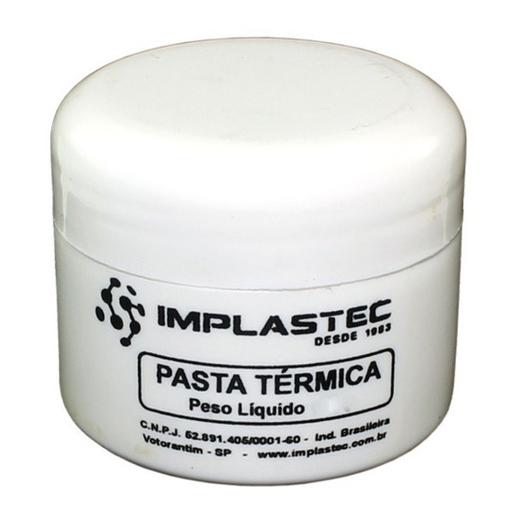 Pasta Térmica Para Processador 500 Gramas Implastec