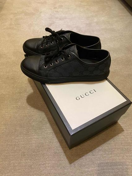 Tênis Gucci Piombo Nero - Tam. 9 Gucci (42 Br)