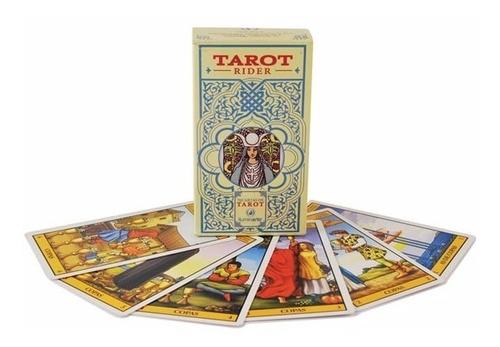 Imagen 1 de 10 de Cartas Tarot Rider-waite Iluminarte 78 Cartas