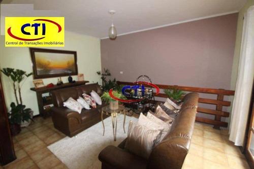 Imagem 1 de 16 de Sobrado Com 3 Dormitórios À Venda, 313 M² Por R$ 1.300.000 - Jardim Pastoril - Ribeirão Pires/sp - So0542