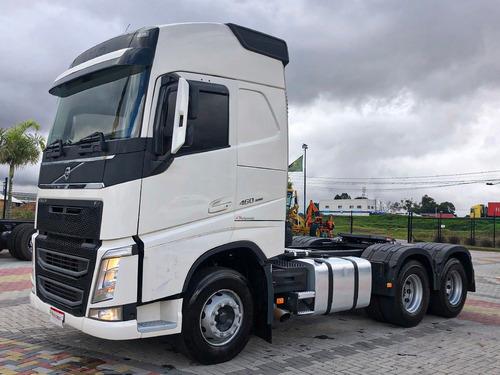 Volvo Fh 460 2018 6x2 Automático No Cavalo=scania,mb,vw,ford