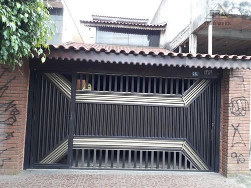 Imagem 1 de 16 de Sobrado À Venda, Jardim Presidente Dutra, Guarulhos - So0265. - So0265
