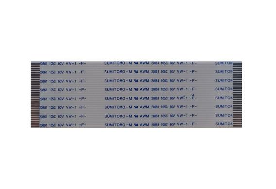 Cabo Flat Sumitomo 25 Vias 70mm Espaço Vias 0,5mm Normal
