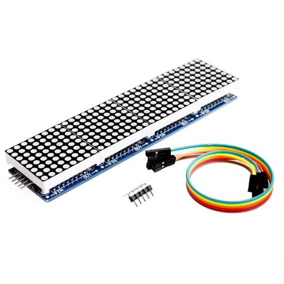 Display Matriz De Led 8x32 Com Max7219 Para Arduino