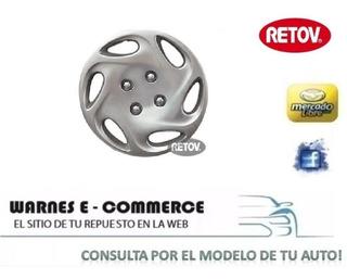 Taza De Rueda Peugeot 504 405 206 207 306 Rodado 14 Tp0642