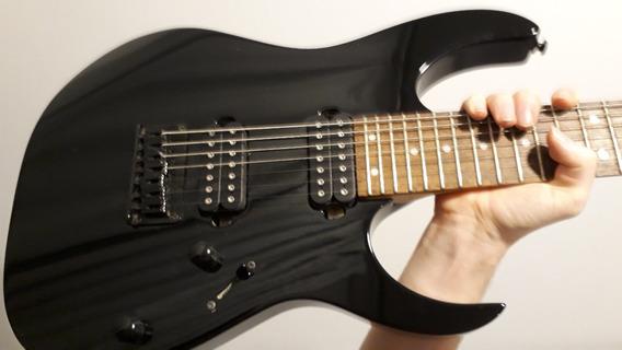 Guitarra 7 Cordas Ibanez Rg 7421 Perfeita Trocas Descrição