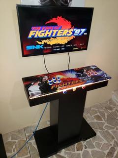 Tablero Med Con Base Arcade Multijuegos Pandora 9s, 9h, Etc 2199 Y Agregando Salida Hdmi Y Vga