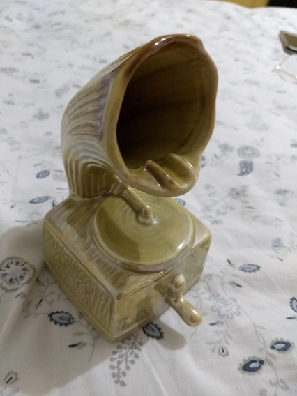 Cinzeiro Antigo Gramofone
