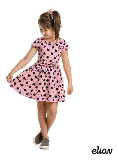 Roupa Infantil Menina - 3 Vestidos - Tam 4, 6, 8 Ou 10