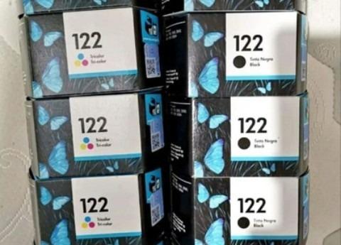 Cartuchos Hp 122 Negro Y Color Originales 100% Verificables