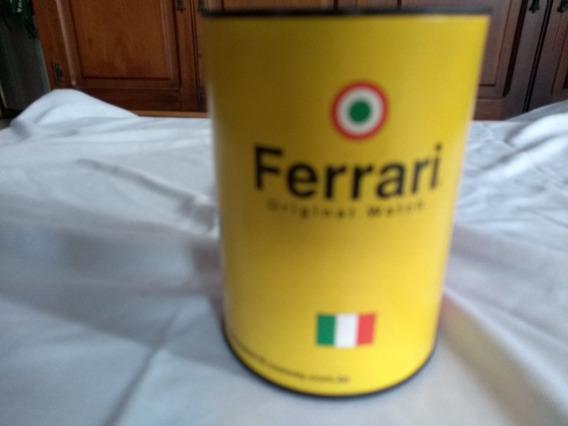 Relogio Ferrari Na Caixa