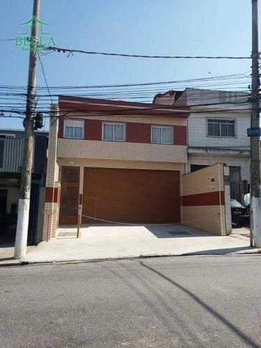 Salão Comercial Para Locação, Vila Maria Eugenia, São Paulo. - Sl0178