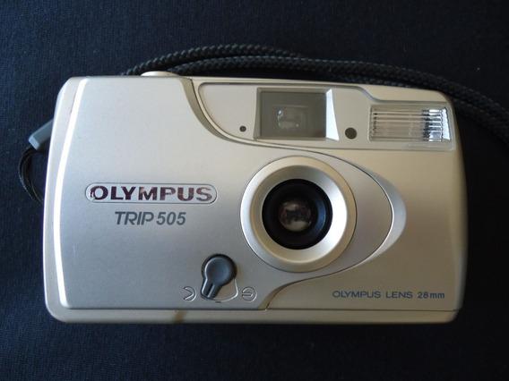 Máquina Fotográfica Olympus Trip 505 Lens 28mm