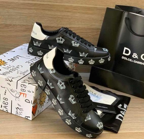Tenis Dolce Gabbana Casuales Para Caballero