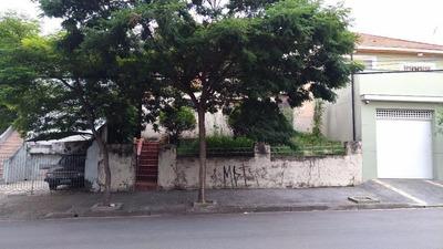 Terreno Residencial À Venda, Tatuapé, São Paulo. - Te1532