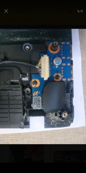 Botão Power Notebook Samsung Np270e4e Np275e4e