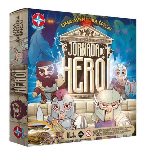 Imagem 1 de 3 de Jogo De Tabuleiro Board Game Jornada Do Herói Estrela