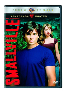 Smallville Cuarta Temporada 4 Cuatro Dvd