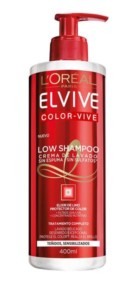 Crema De Limpieza Color Vive Elvive L´oréal Paris 400ml
