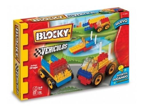 Blocky Vehiculos Bloques 70 Piezas 601