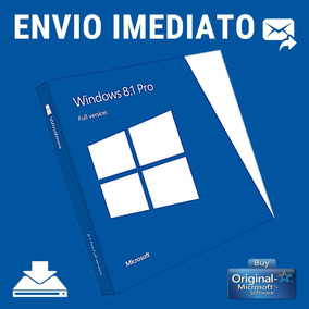 Key Windows 8.1 Pro 32/64 Bits Original Chave Envio Rapido