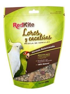 Alimento Para Loros Cacatuas Aves 500 Mgrs.