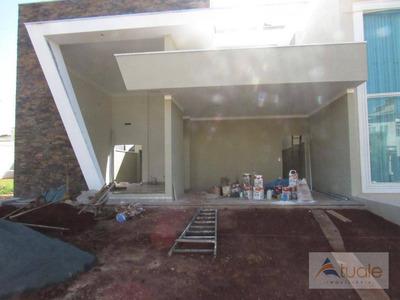 Casa Com 3 Dormitórios À Venda, 180 M² - Parque Brasil 500 - Paulínia/sp - Ca6218
