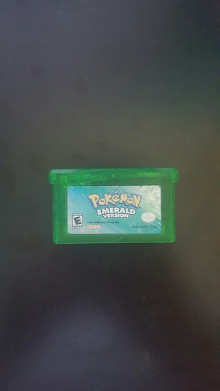 Pokemon Emeralda Para Gameboy Advance Original