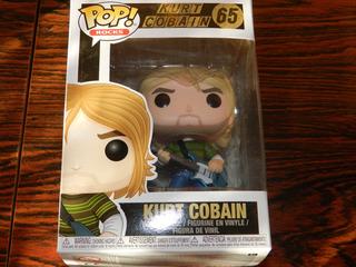 Figura Funko Pop! Kurt Cobain Excelente!!