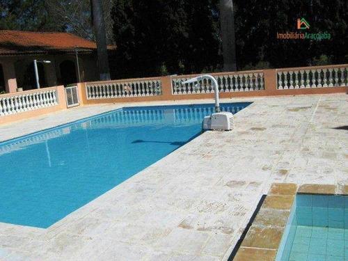 Imagem 1 de 30 de Terreno À Venda, 800 M² Por R$ 145.000,00 - Condomínio Village Serra - Araçoiaba Da Serra/sp - Te0108