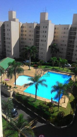 Apartamento Com 3 Dormitórios À Venda, 68 M² Por R$ 320.000 - Loteamento Parque São Martinho - Campinas/sp - Ap2824