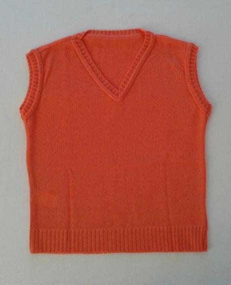 Colete Frio Inverno Infantil Trico Lã Menino Menina Ref.5018