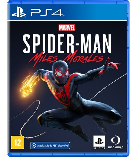 Jogo Marvel's Spider-man: Miles Morales - Ps4