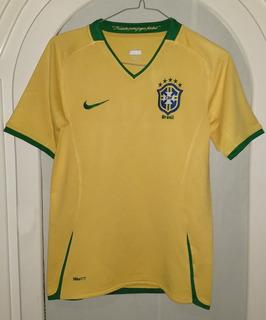 Jersey Selección Brasil Año 2009 Talla De Niño 10-12 Años