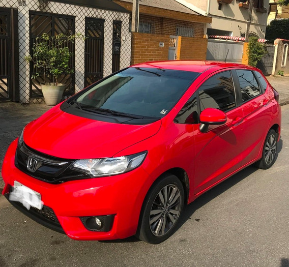 Honda Fit Ex 2016 Automatico Cvt Completo