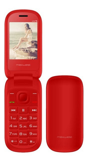 Celular Maxwest Uno Flip 2,4 Rojo 8mb+32mb