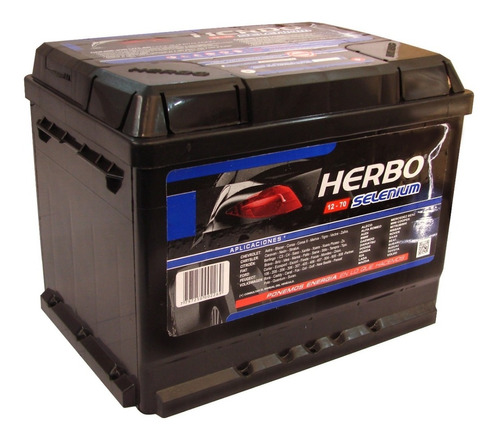 Bateria Herbo Selenium 12x70 Peugeot 307
