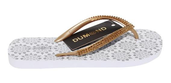 Chinelo Dumond Injetado Dourado 4110650