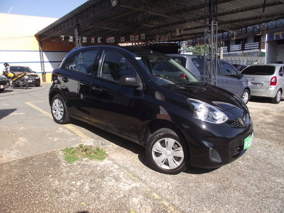 Nissan March 1.0 S 2016 Completinho + Air Bag E Abs
