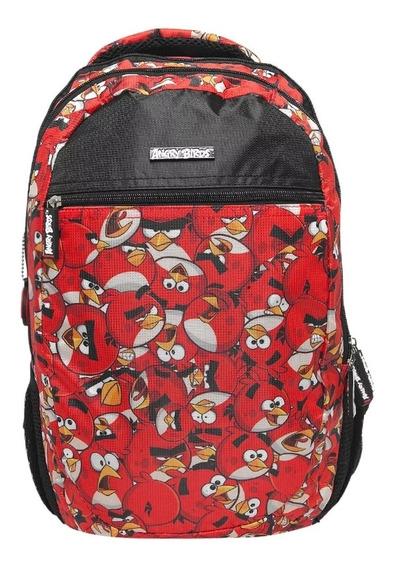 Mochila Angrybirds De Costas Santino Original Abm702003