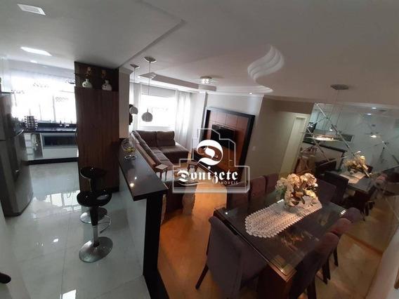 Apartamento Com 3 Dormitórios À Venda, 89 M² Por R$ 500.000,00 - Vila Gilda - Santo André/sp - Ap13904