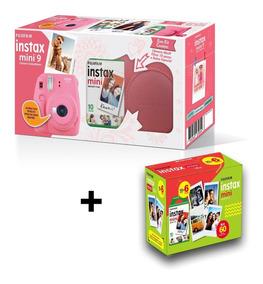 Câmera Instax Mini 9 Kit Bolsa + Filme 60+ Entrega Rápida