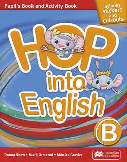 Hop Into English B - Pupil´s And Activity Book - Macmillan